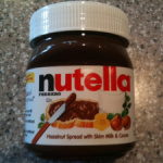 (Almost) Wordless Wednesday (The Nutella Nutrition Label Edition)