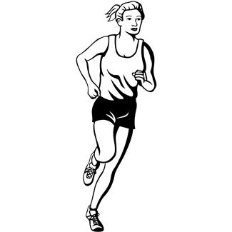 Magic words running with perseverance - Coureur dessin ...