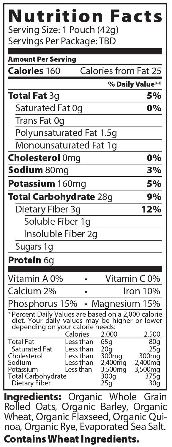 Nutrition Label Maker