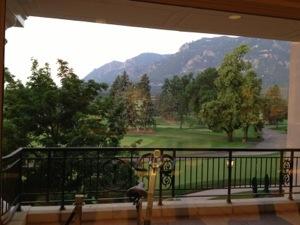 Broadmoor Gym View