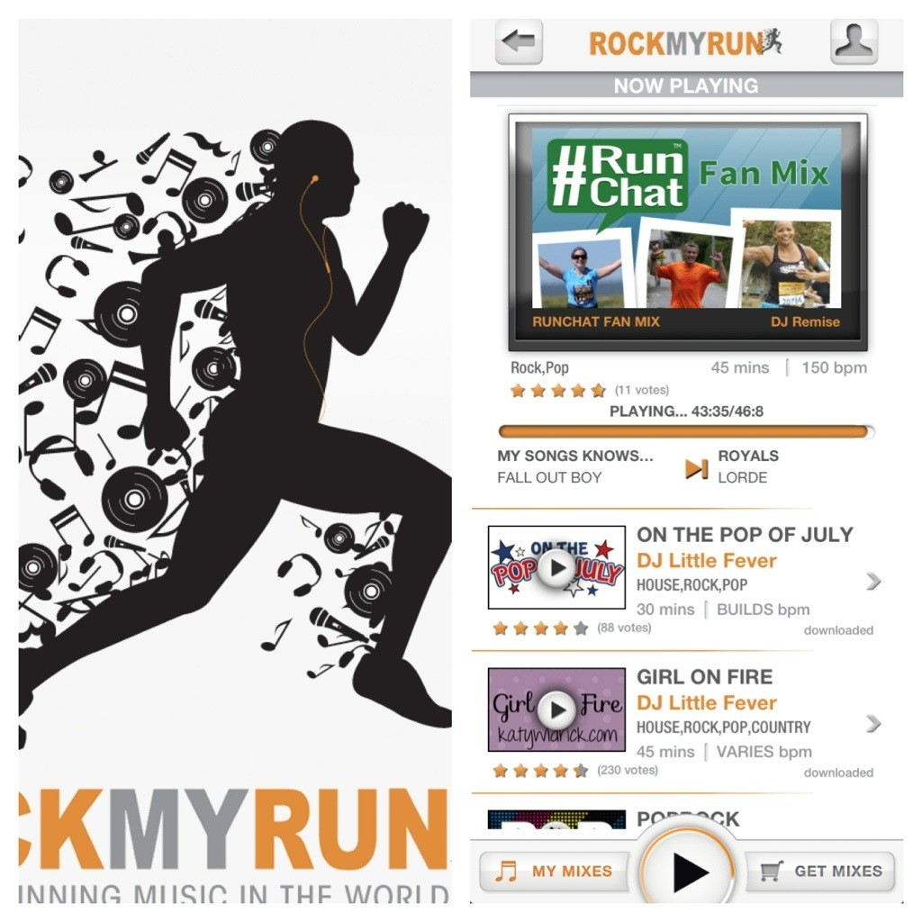 using apps for workout music got2run4me. Black Bedroom Furniture Sets. Home Design Ideas
