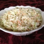 Nearly Fat Free Coleslaw Recipe