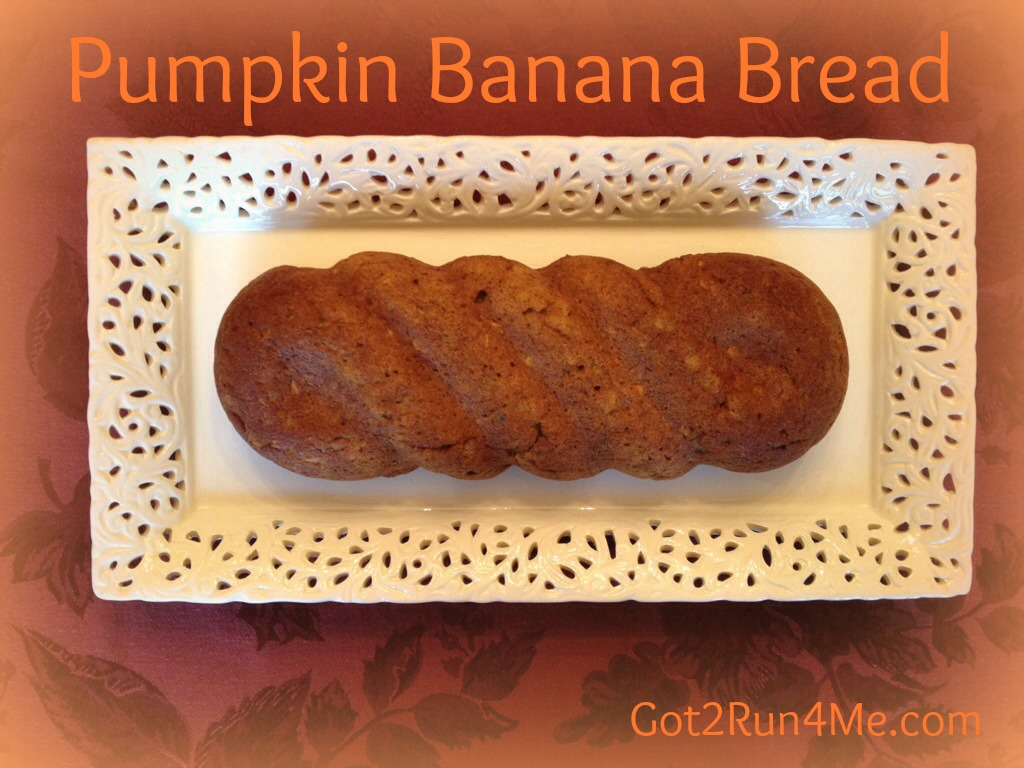 Pumpkin Banan Bread