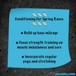 Conditioning For Spring Races