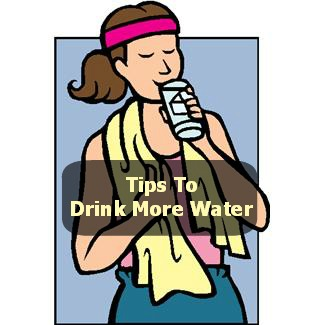 how to train myself to drink water