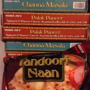 Trader Joe's Frozen Indian Entrees
