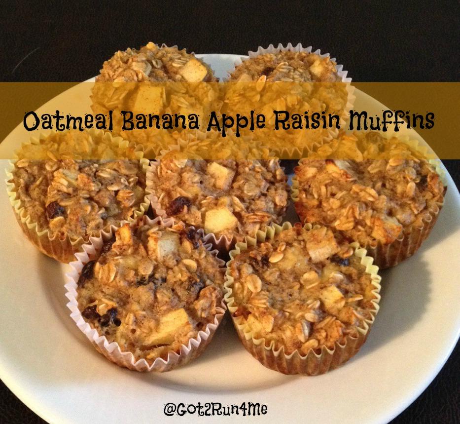 oatmeal raisin cookies banana oatmeal raisin muffins recipes dishmaps ...