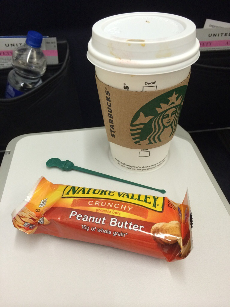 Starbucks + Granola Bar