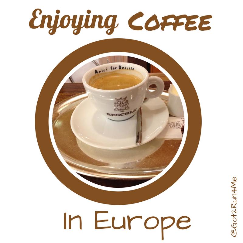 Enjoying Coffee in Europe