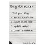 Blog Homework