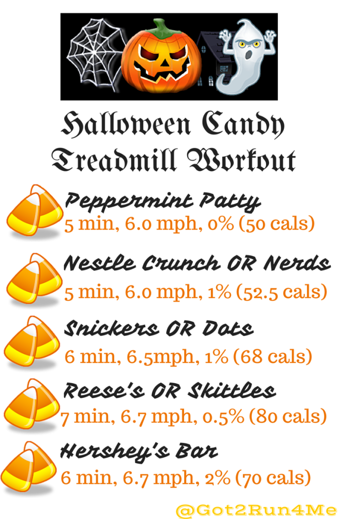 Halloween Candy Calories Workout