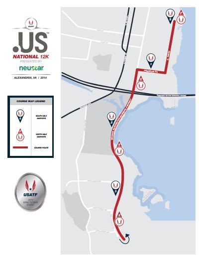 USATF 12K Course