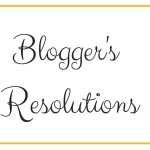Five New Year Resolutions For Bloggers