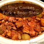 Healthy Slow Cooker Recipes — Pork And Bean Stew