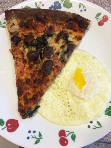 Pizza + Eggs
