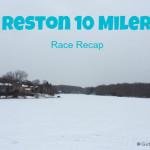 A Snowy Reston 10 Miler