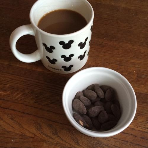 Dark Chocolate Almonds
