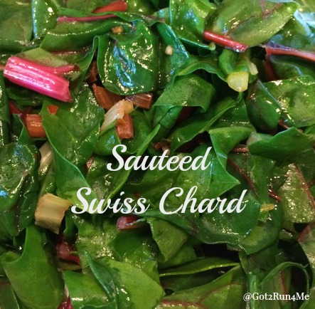 served the sauteed Swiss chard as a side dish, but had plenty of ...