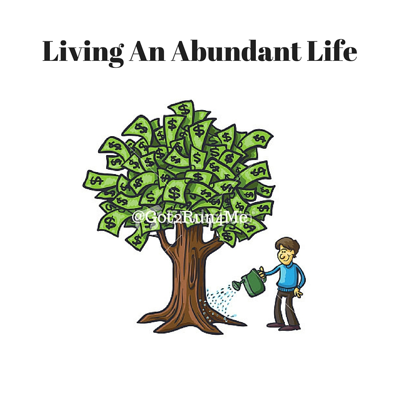 Abundant Living Grateful For My...