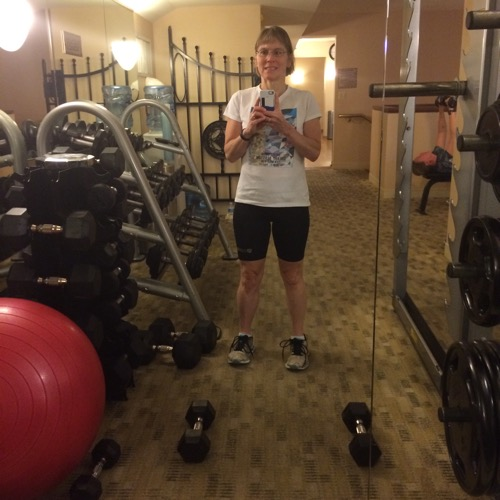 Intercontinental Chicago Hotel Gym