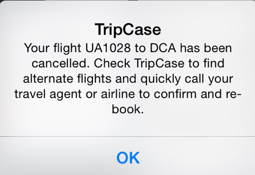 Trip Case Alert