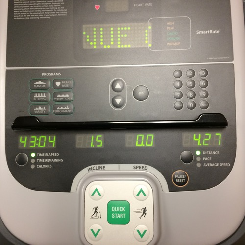Hampton Inn Treadmill