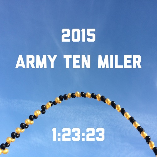 Army Ten Miler Balloons