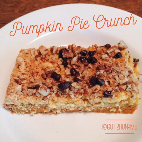 Pumkin Pie Crunch Bars