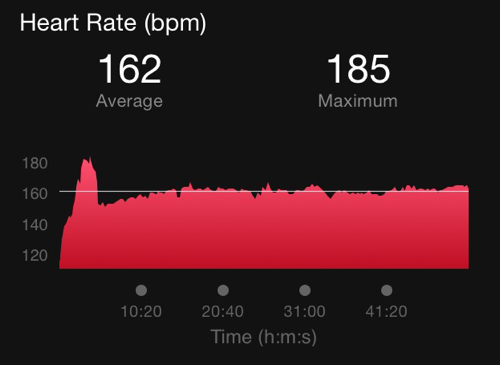 Runner Heart Rate Lawyers Have Heart 10K