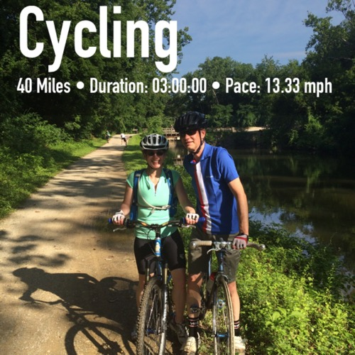 C&O Canal Towpath Ride