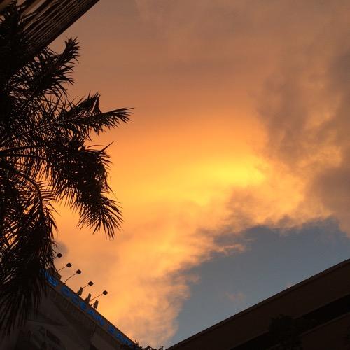 Downtown Miami Sunrise