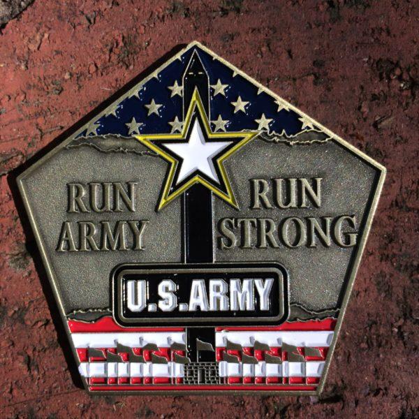 2016 Army 10 Miler Medal