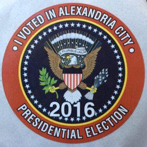 I voted 2016