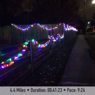 Holiday Lights December Run