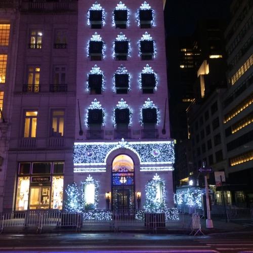 Harry Winston Christmas Lights