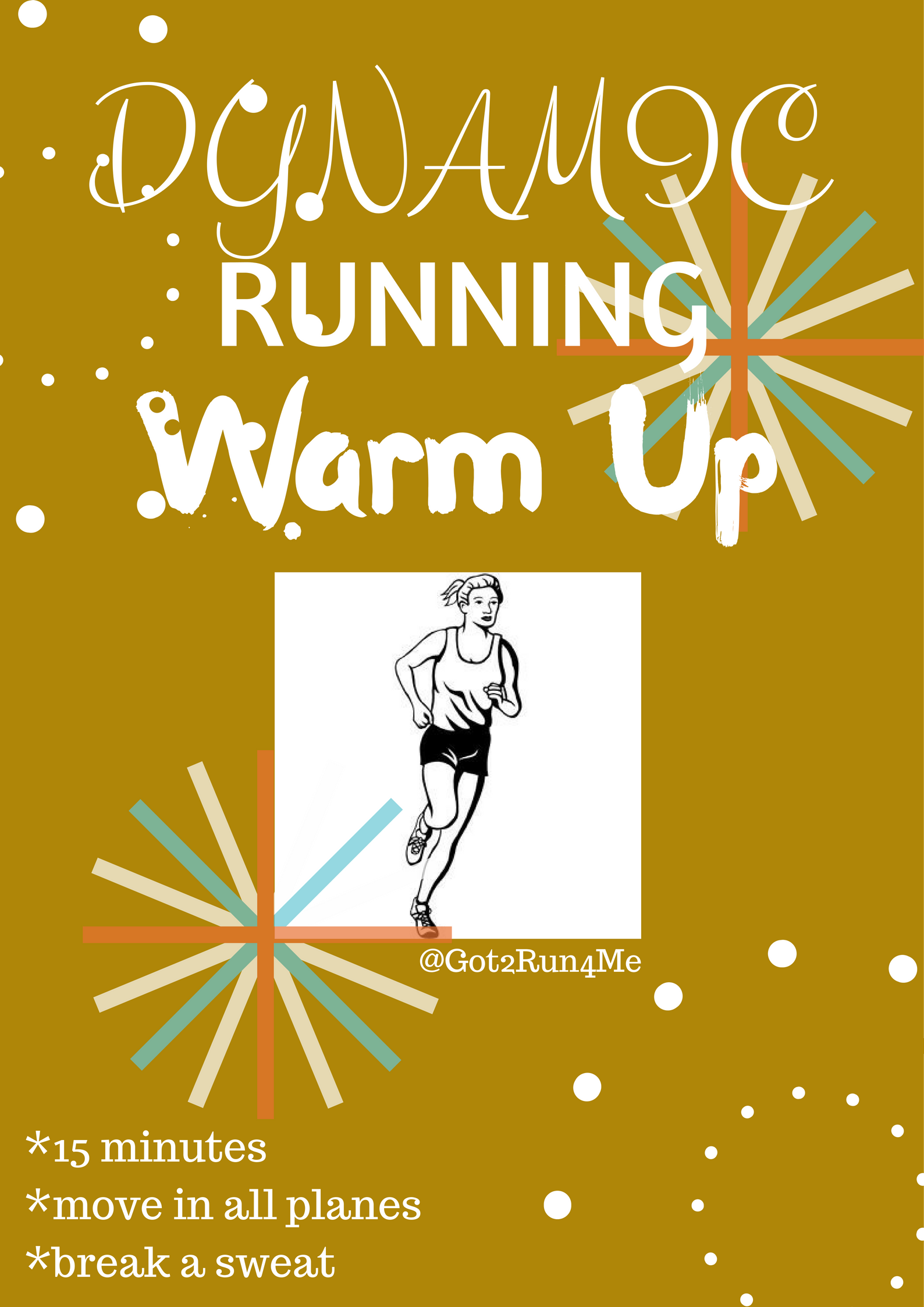Dynamic Running Warm Up