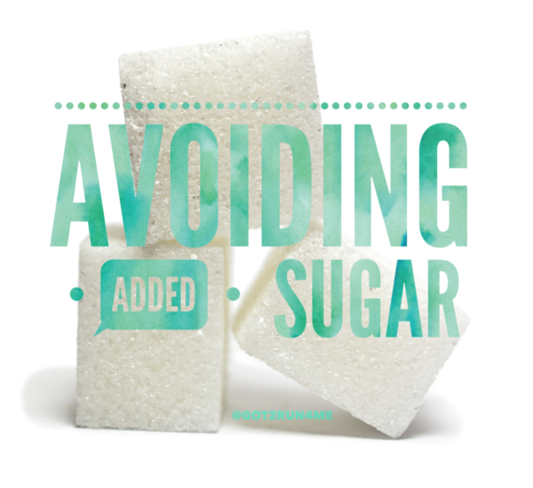 Avoiding Added Sugar