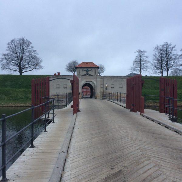 Running In Copenhagen Kastellet Entrance